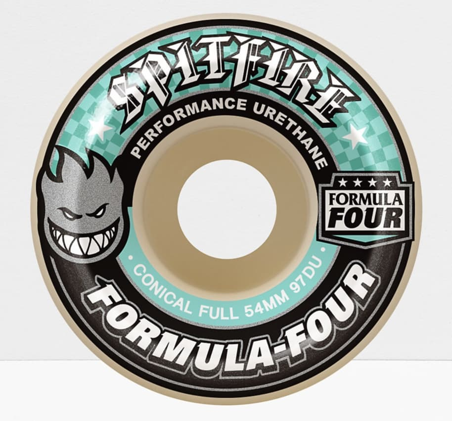 Spitfire - F4 97 Conical Full 56mm   Wheels by Spitfire Wheels 1