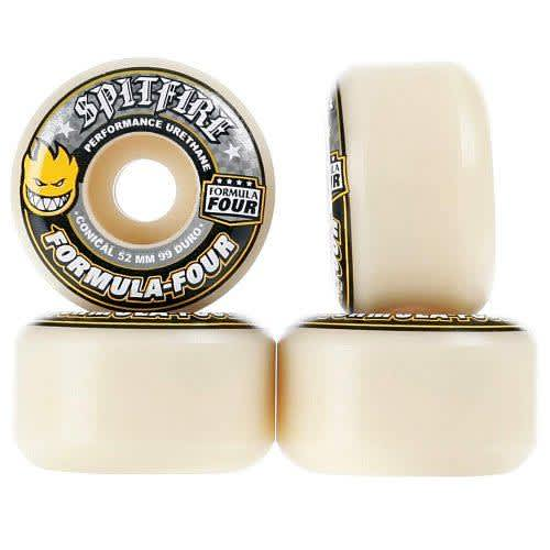 Spitfire Wheels Formula Four Conical 99Duro   Wheels by Spitfire Wheels 1