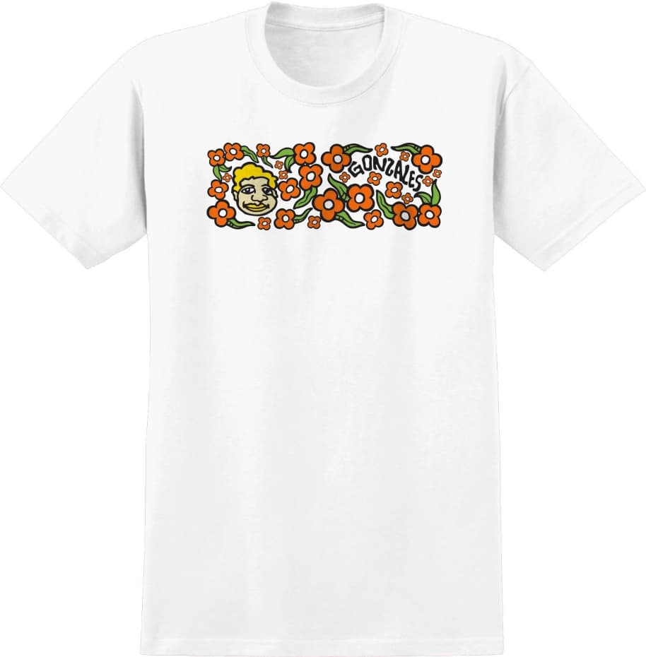 KROOKED Sweatpants Tee White   T-Shirt by Krooked Skateboards 1