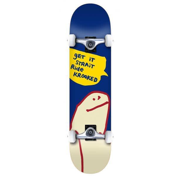 Krooked OG Shmoo MD Complete Skateboard - 7.75 | Complete Skateboard by Krooked Skateboards 1