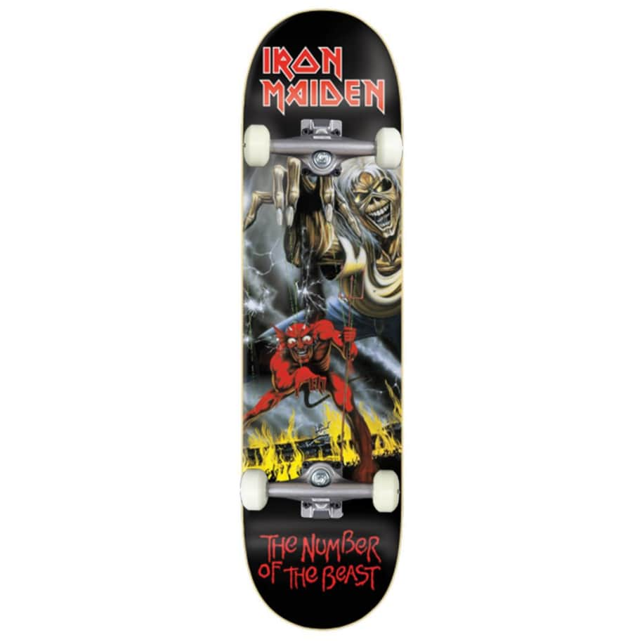 Zero Skateboards Number Of The Beast Complete Skateboard - 8.00 | Complete Skateboard by Zero Skateboards 1