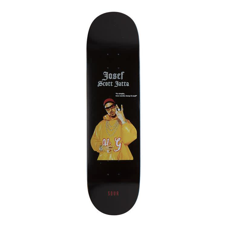 SOUR JOSEF TWO WORDS DECK - 8.5   Deck by Sour Skateboards 1