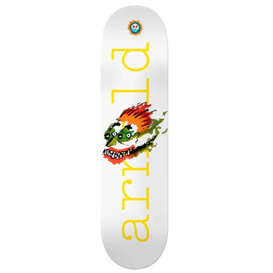 Isle Mike Arnold Face Drawing Deck 8.25/8.5 | Deck by Isle Skateboards 1