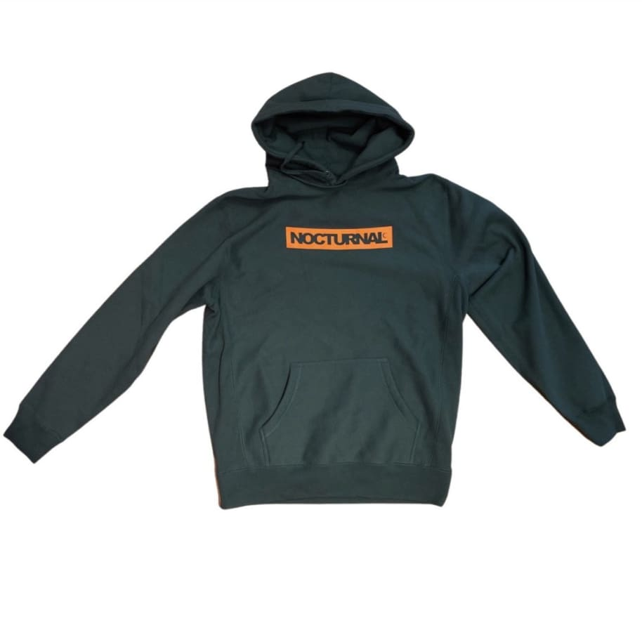 Nocturnal Box Logo Hoody (Green) | Hoodie by nocturnal 1