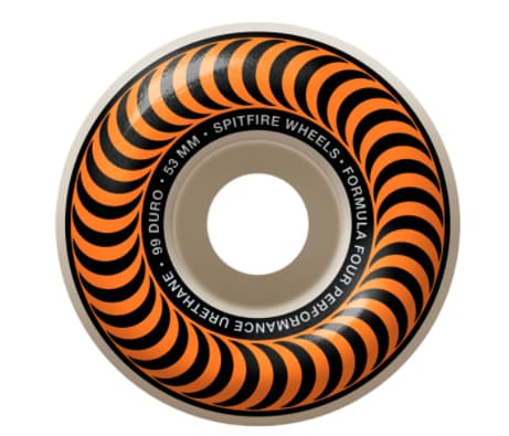 F4 OG Classics 53mm | Wheels by Spitfire Wheels 1