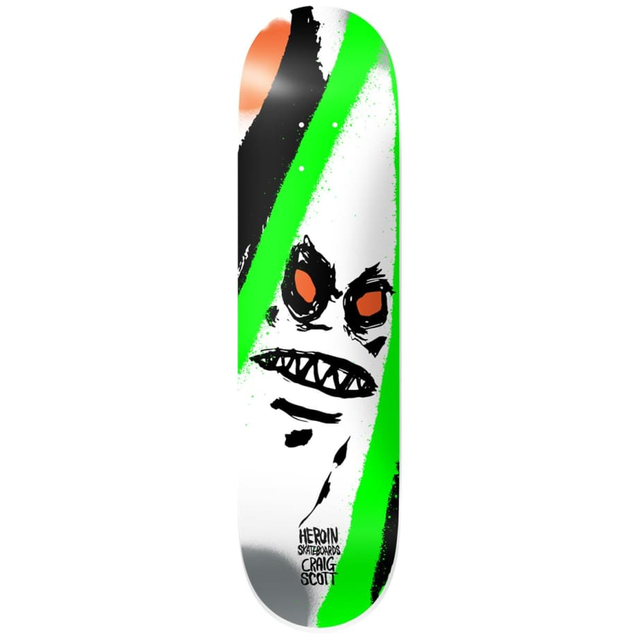 """Heroin Craig Questions Call Of The Wild Deck - 9""""   Deck by Heroin Skateboards 1"""
