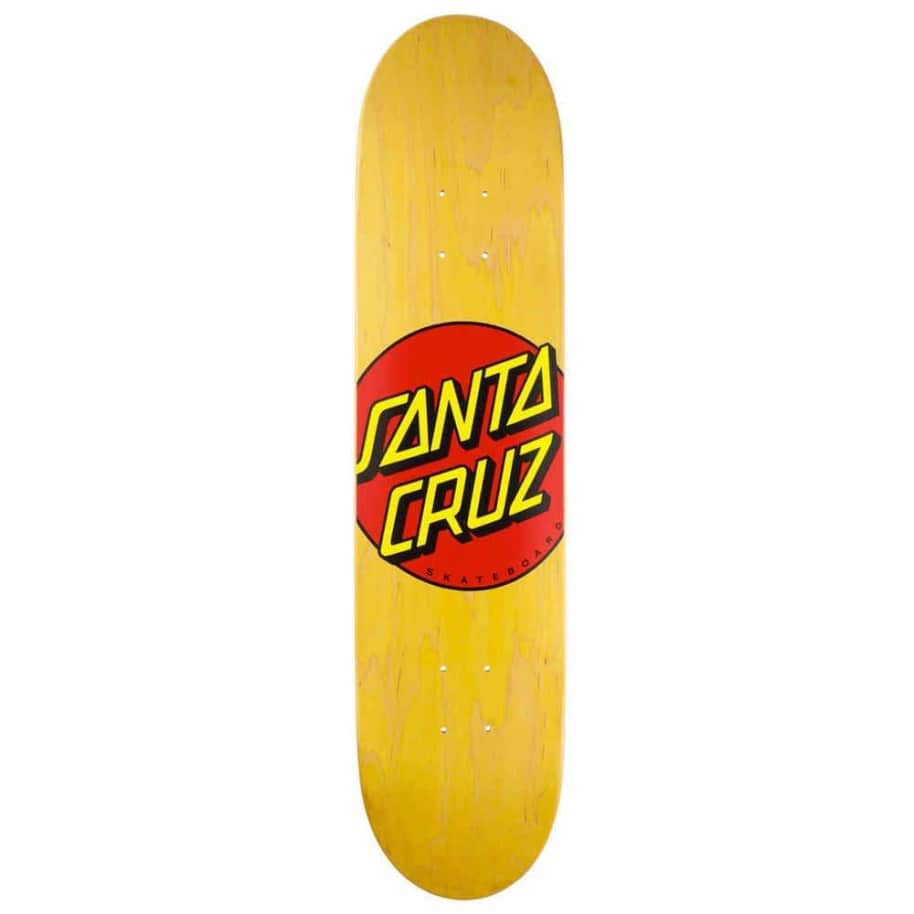 "Santa Cruz - Classic Dot Skateboard - 7.75"" | Deck by Santa Cruz Skateboards 1"