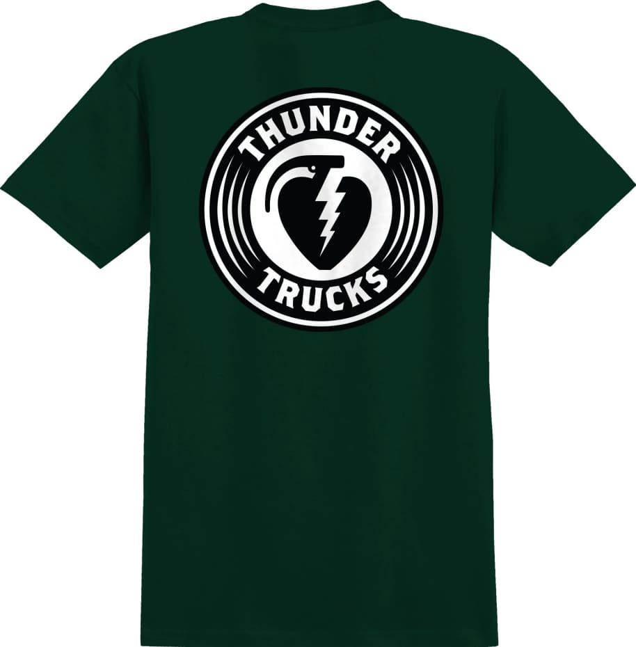 THUNDER Charged Grenade Tee Forest Green | T-Shirt by Thunder Trucks 1