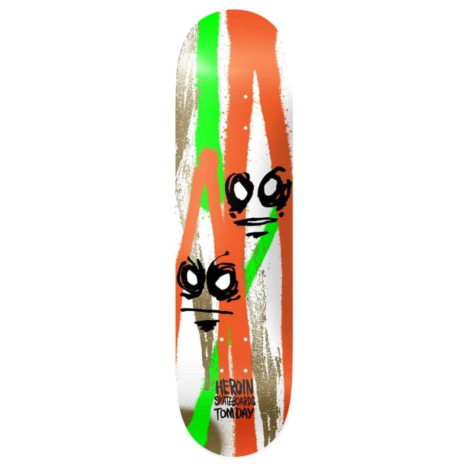"""Heroin Skateboards Call Of The Wild Tom Day 8.5"""" 