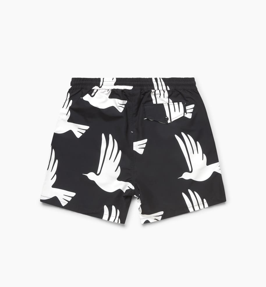 by Parra Static Flight Swimshorts - Black | Shorts by by Parra 2
