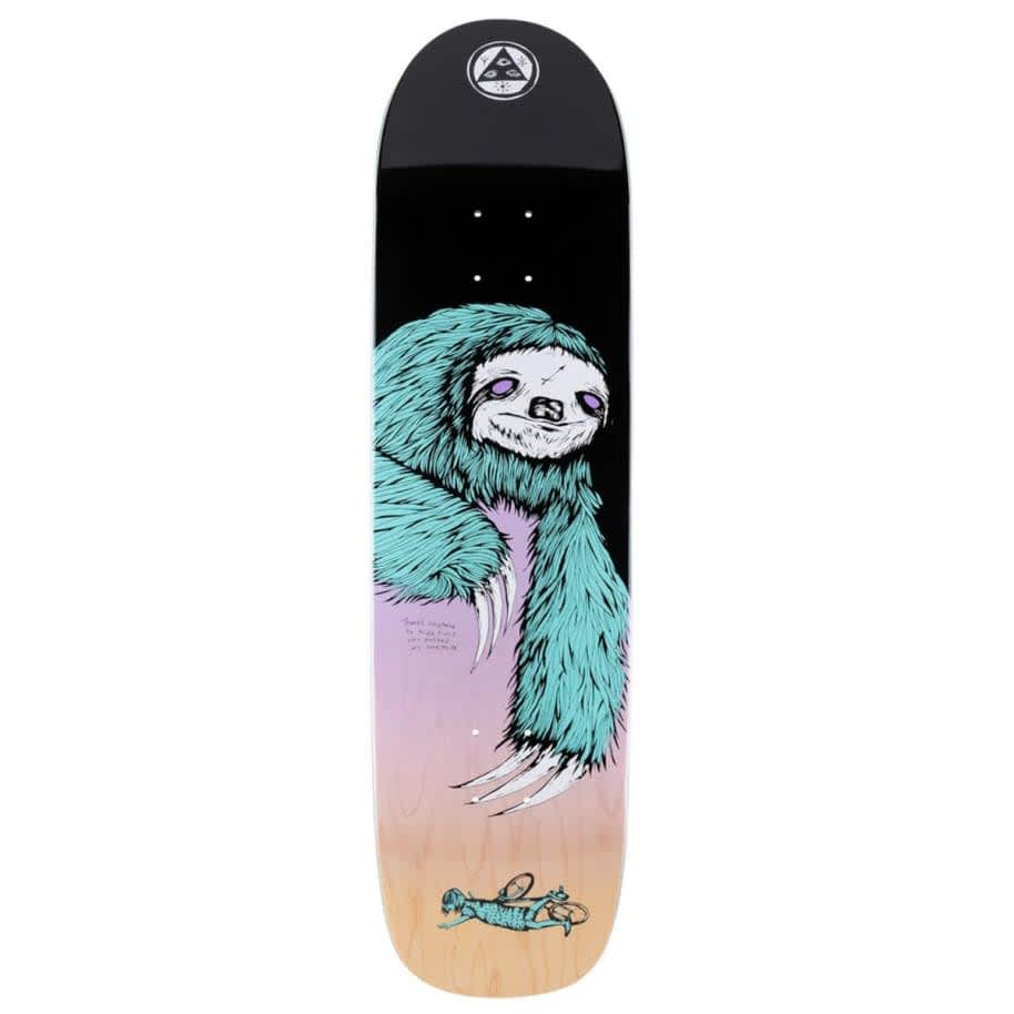 Welcome Sloth On Son Of Planchette Skateboard Deck 8.38   Deck by Welcome Skateboards 1