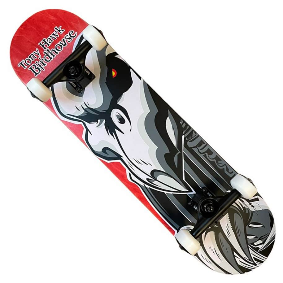 Birdhouse Complete Tony Hawk Falcon 2 Red Complete 8x31.5   Complete Skateboard by Birdhouse 1
