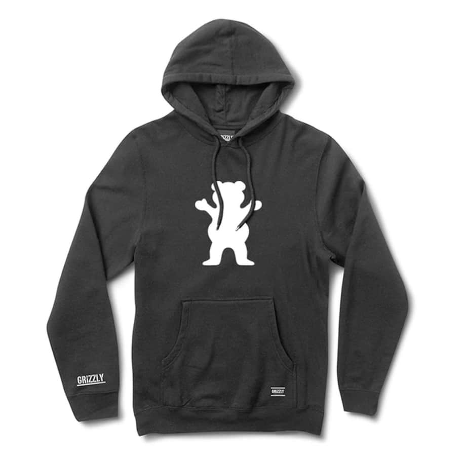 Grizzly - OG Bear Hoodie - Black | Hoodie by Grizzly Griptape 1