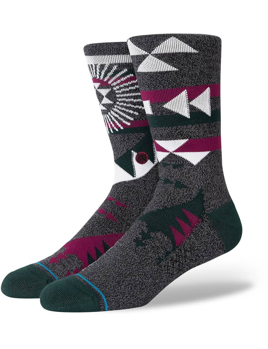 Stance Socks - Stance Sundowner Crew Socks | Black | Socks by Stance Socks 1