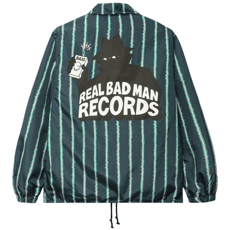 Real Bad Man RBM Records Coaches Jacket - Watermelon | Coach Jacket by Real Bad Man 1