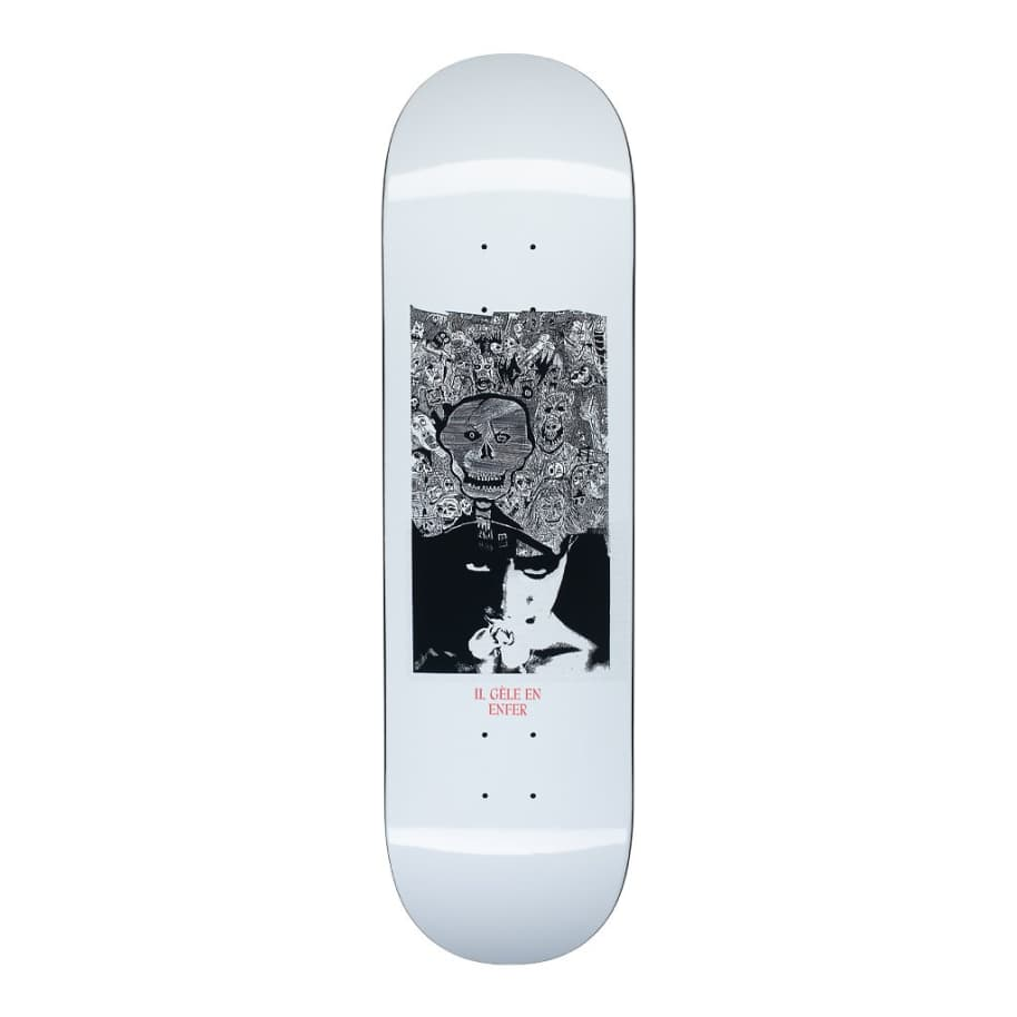Hockey Disruption Kevin Rodrigues Skateboard Deck - 8.5"
