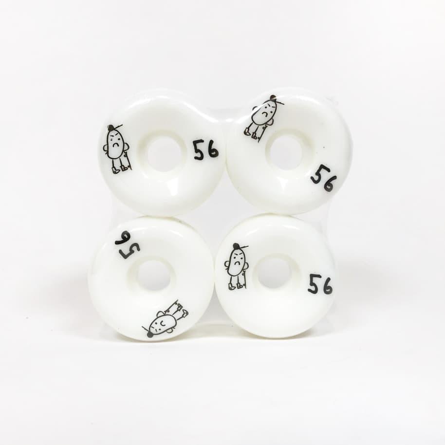 Shop Brand - 56mm (101a) Conical Skateboard Wheels | Wheels by Shop Brand 1