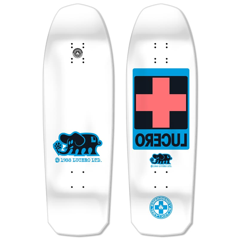 "Black Label Lucero Cross Deck (White Dip) 10"" x 32.875"" 