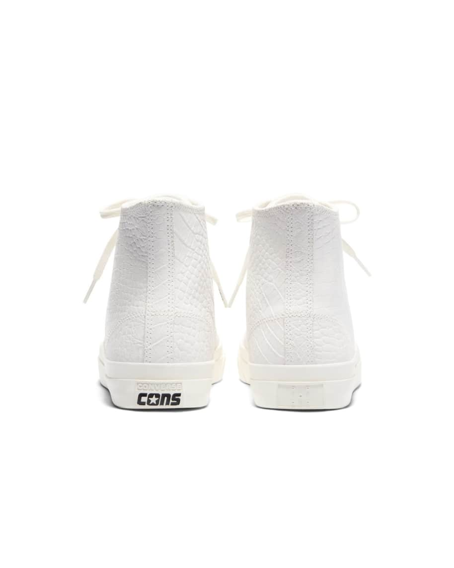 Converse CONS x Pop Trading Company JP Pro Hi Shoes - White 'Dragonskin' | Shoes by Converse Cons 4