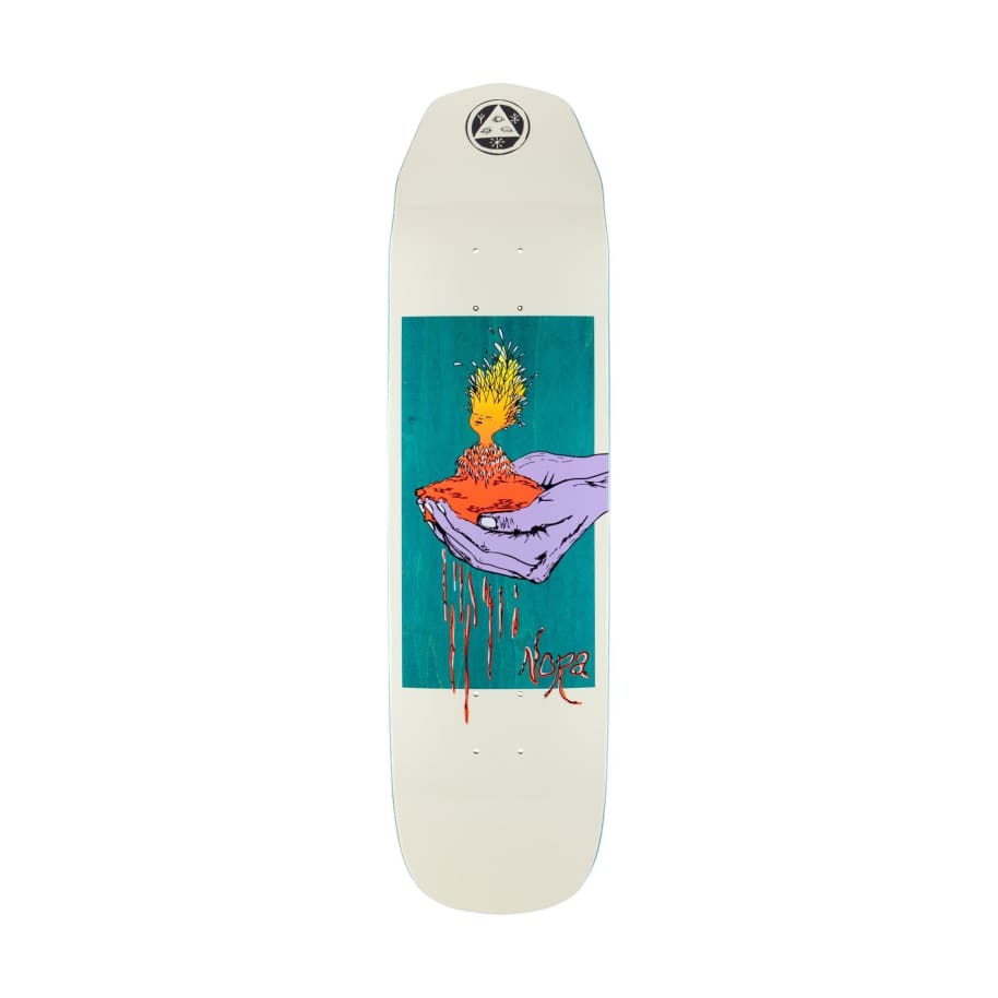 Welcome Soil on Wicked Princess Bone 8.125 | Deck by Welcome Skateboards 1
