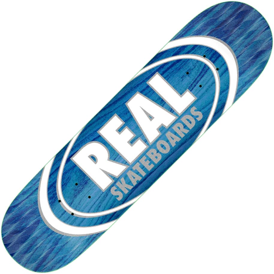 """Real Oval Patterns Team series deck (8.5"""")   Deck by Real Skateboards 1"""