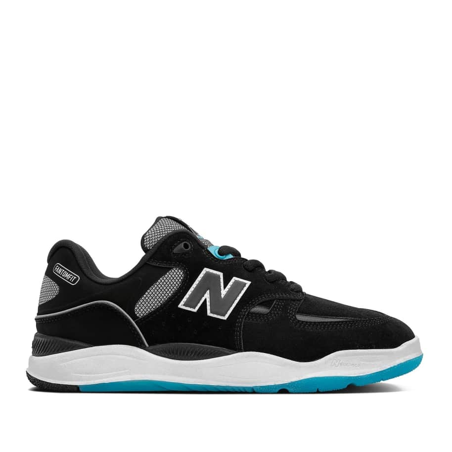 New Balance Numeric Tiago 1010 Shoes - Black / Blue | Shoes by New Balance 1