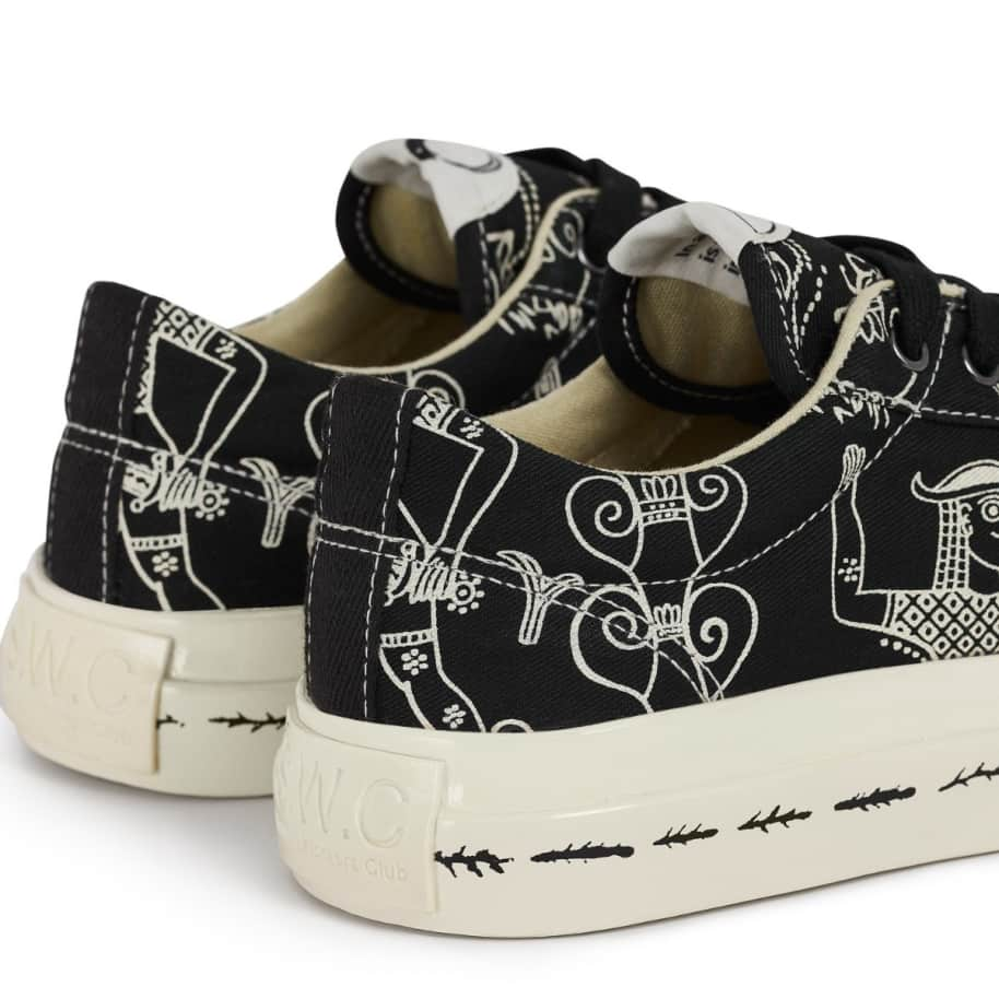 Stepney Workers Club x Endless Joy Dellow Womens Canvas Shoes - Gorgon | Shoes by Stepney Workers Club 4