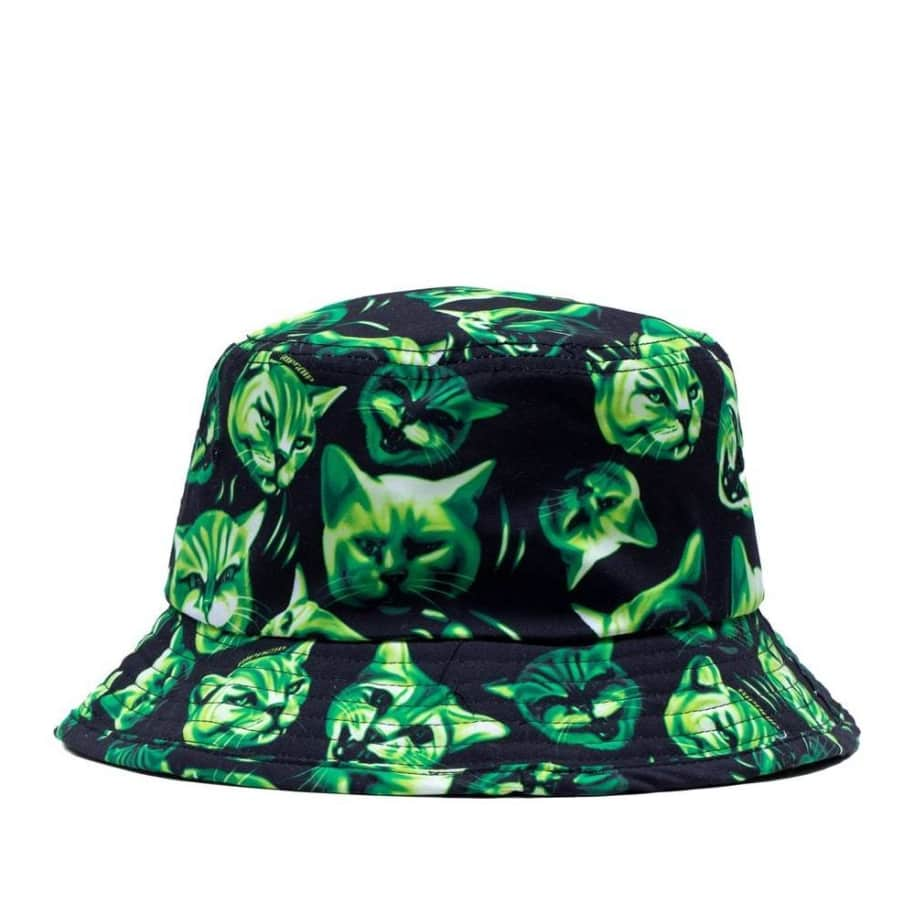 Ripndip Neon Nerm Bucket Hat - Black | Bucket Hat by Ripndip 1