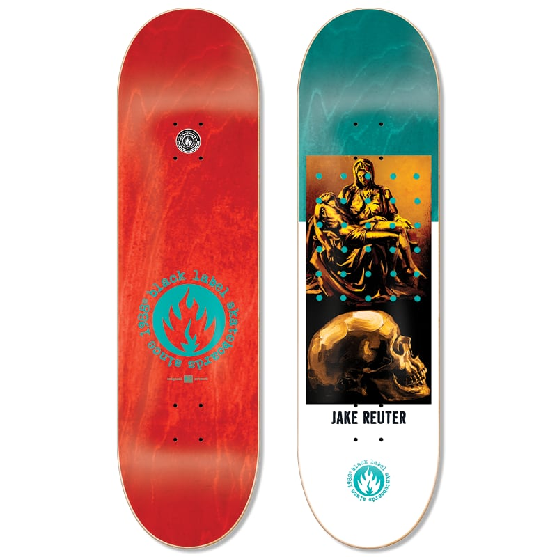 BLACK LABEL Reuter Juxtapose Deck 8.75 | Deck by Black Label 1