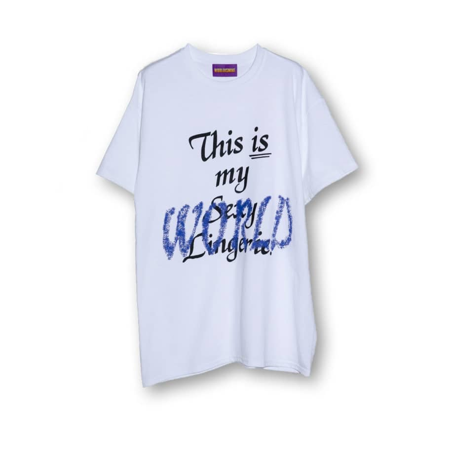 World Is Mine - This Is My World Tee - White | T-Shirt by World Is Mine 1