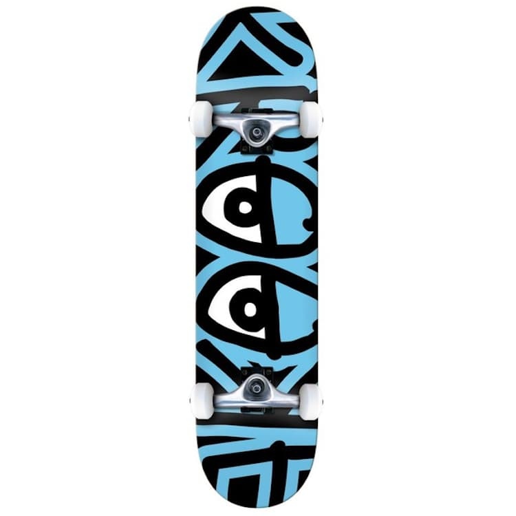 """Krooked Skateboards Big Eyes Too Blue Complete Skateboard 7.75""""   Complete Skateboard by Krooked Skateboards 1"""