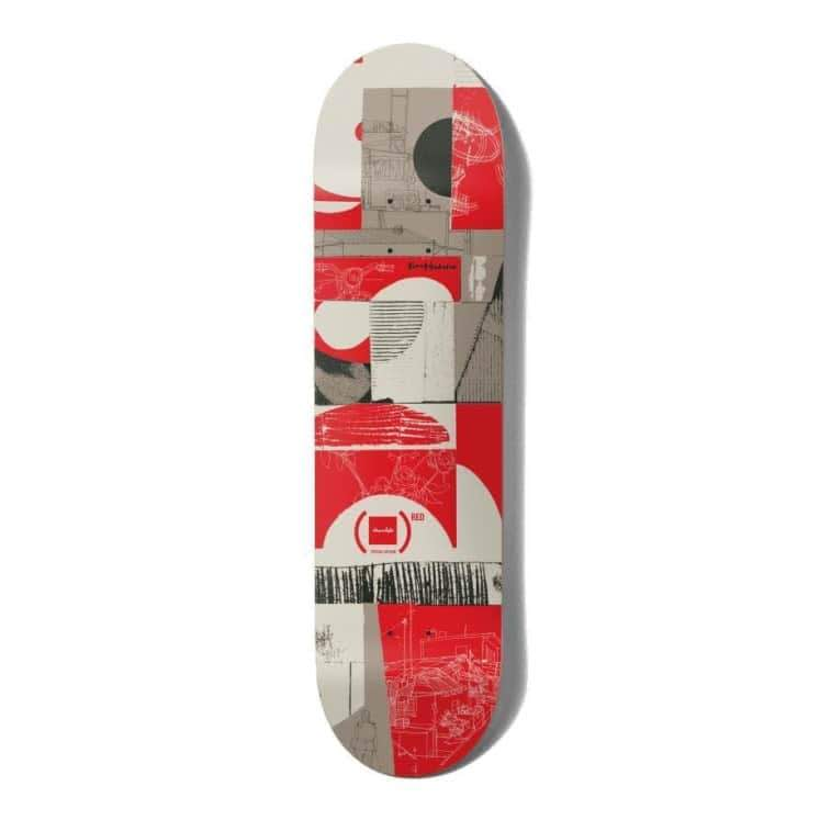 """Chocolate Anderson Red Deck 8""""   Deck by Chocolate Skateboards 1"""