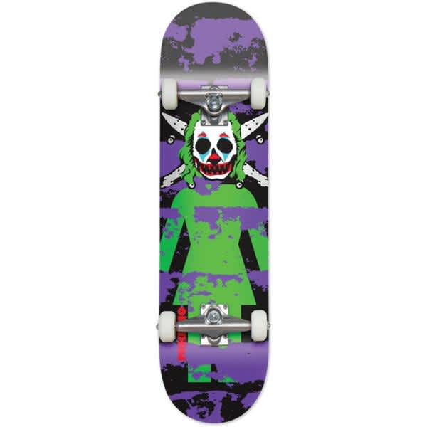 """Girl Complete Mike Mo Clown Pirate 8.125""""   Complete Skateboard by Girl Skateboards 1"""