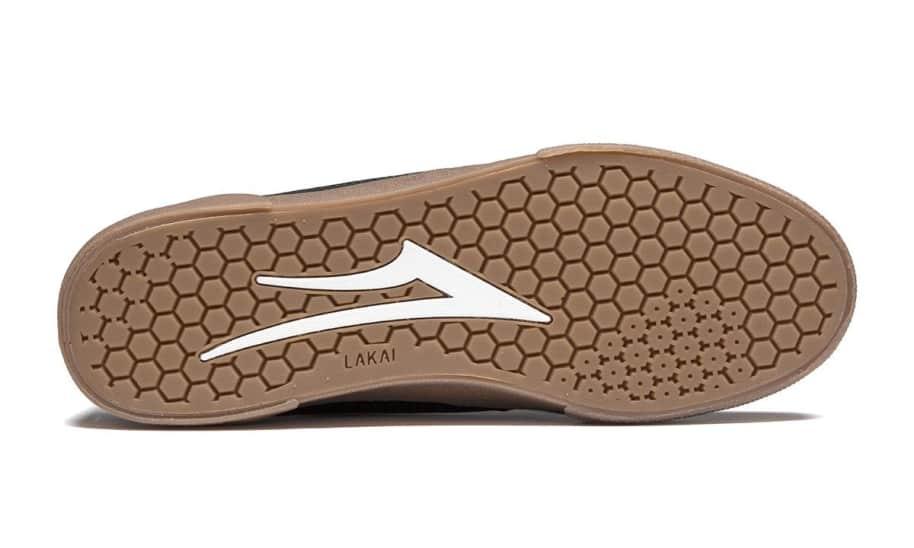 Lakai Cambridge Suede Skate Shoes - Black / Gum | Shoes by Lakai 4