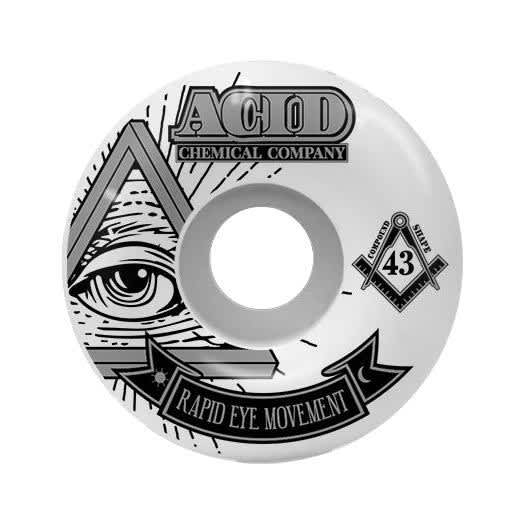 "Acid REM ""Pyramid"" 54mm 101a   Wheels by Acid Chemical Co. 1"
