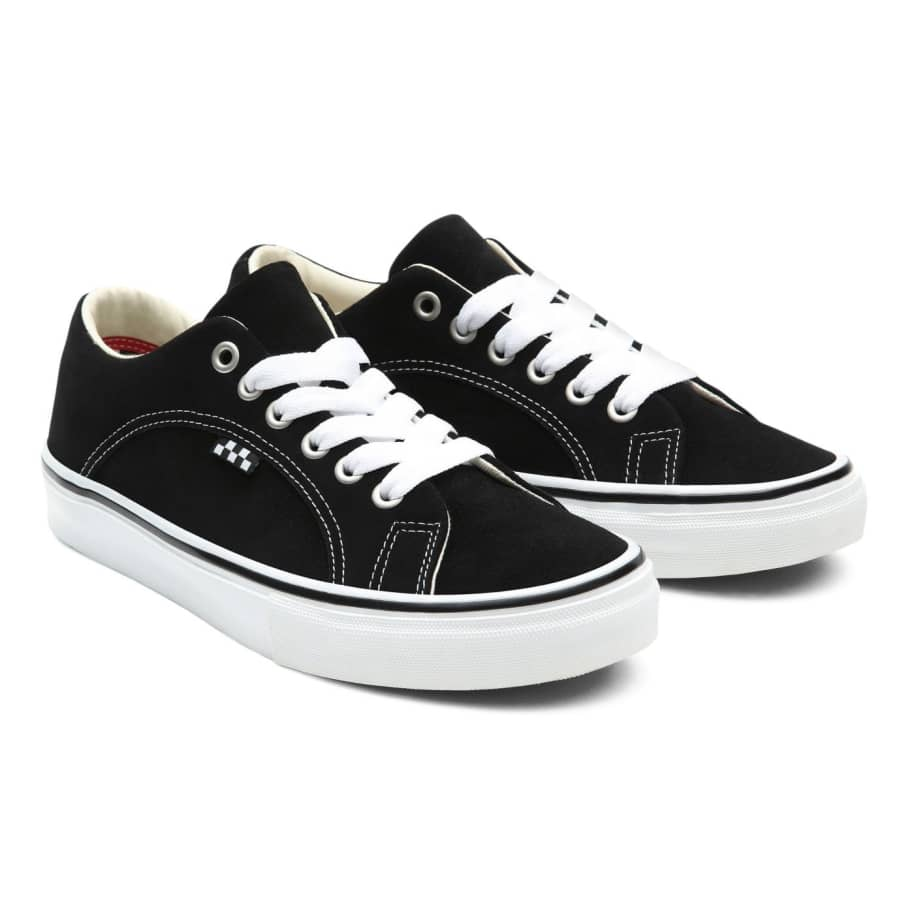 Vans Skate Lampin Shoes - Black / White | Shoes by Vans 2