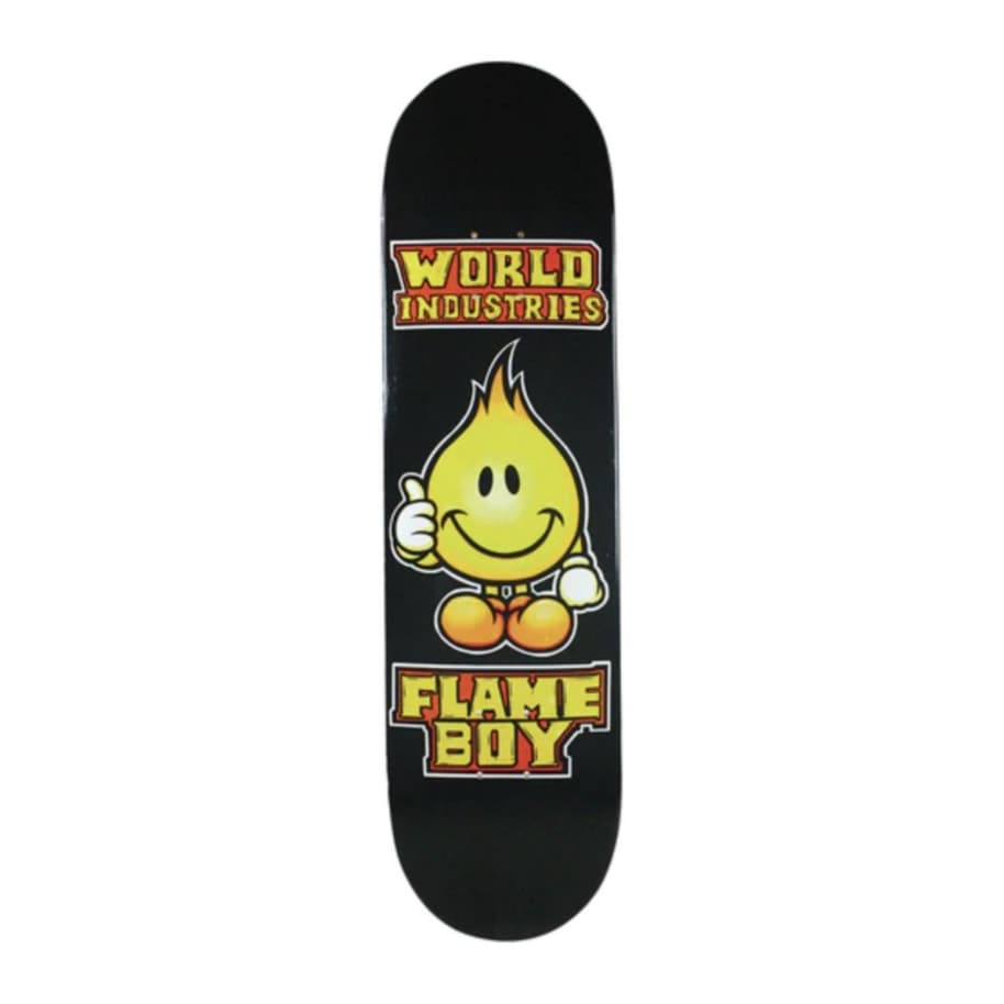 World Industries Solid Gold Flame Boy Deck (8.3)   Deck by World Industries 1