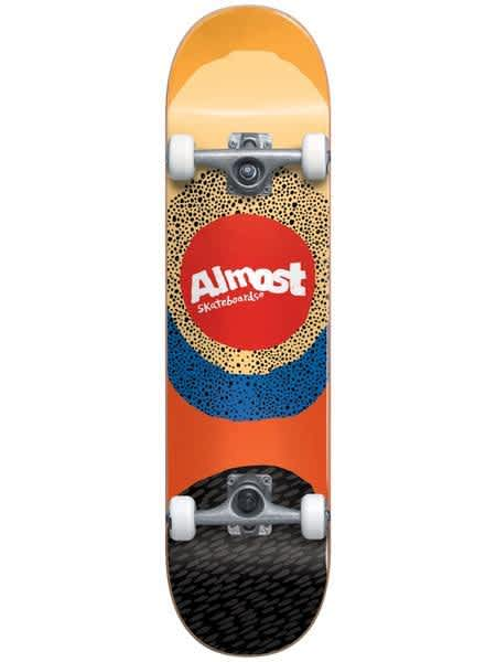 Almost Radiate Fist Push Complete 7.5 | Complete Skateboard by Almost Skateboards 1
