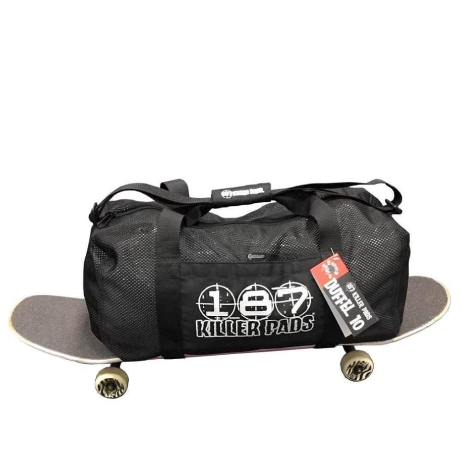 187 Killer Pads Duffel Bag - Black | Bag by 187 Killer Pads 1