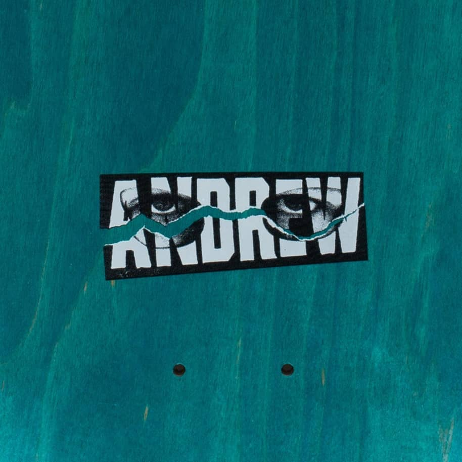 Hockey Main Event Andrew Allen Skateboard Deck - 8.25"
