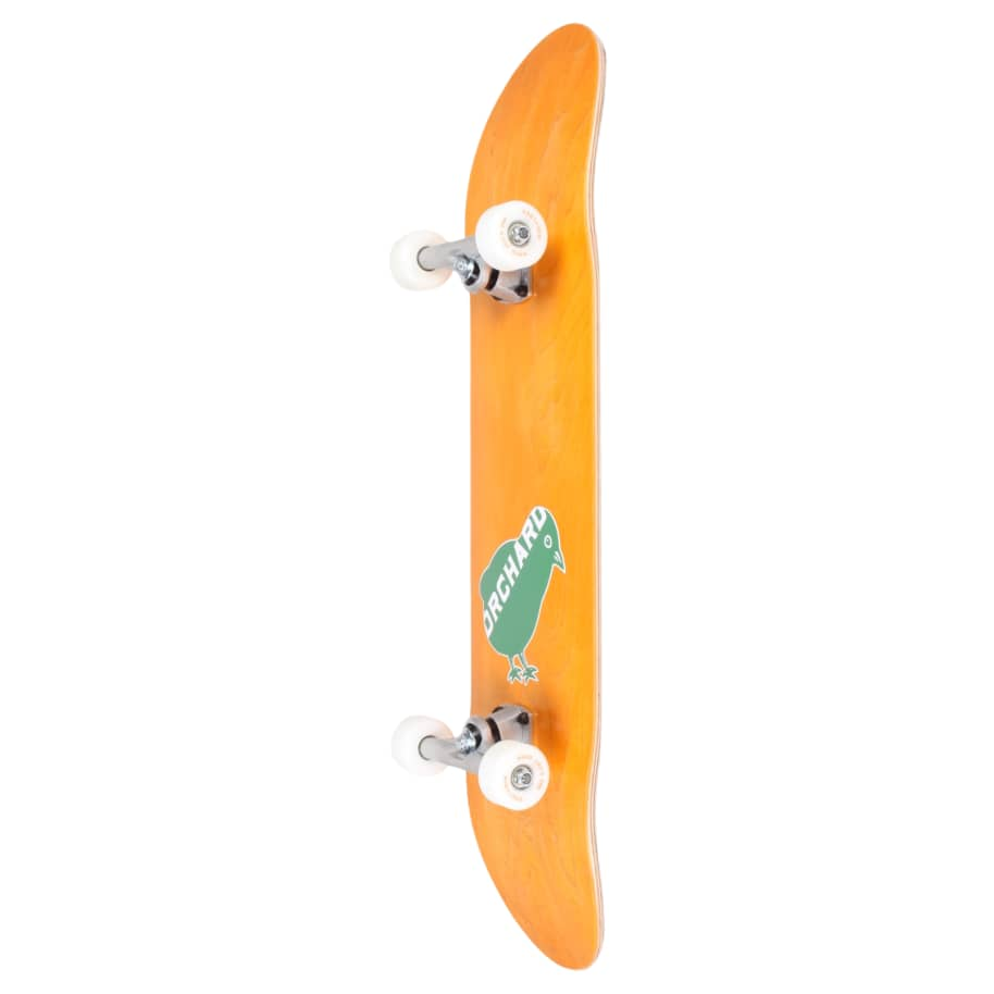 Orchard Green Bird Logo Hybrid Complete 7.8 Yellow (With Free Skate Tool) | Complete Skateboard by Orchard 2