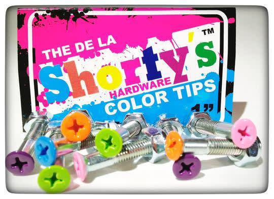"""Shorty's Color Phillips Head Hardware 1"""" ( Multiple Styles) 