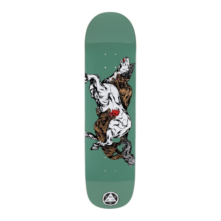 Welcome Goodbye Horses On Bunydip Deck 8.25   Deck by Welcome Skateboards 1