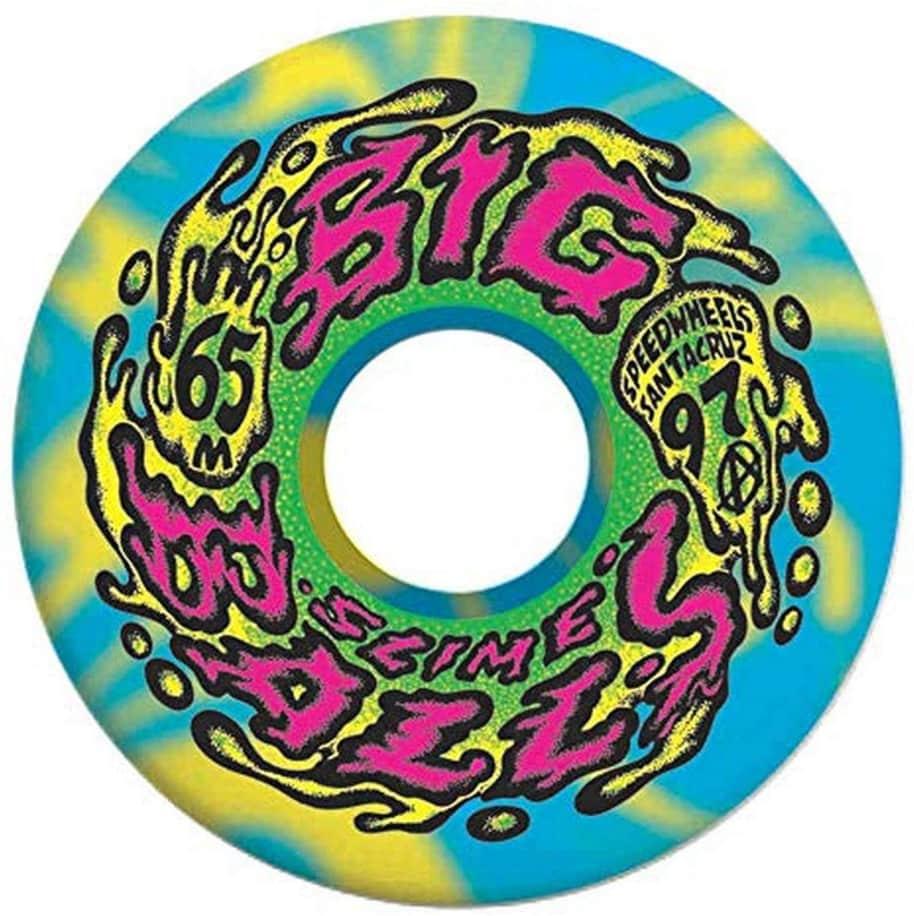 Big Balls Swirls | 97A 65mm | Wheels by Santa Cruz Skateboards 1