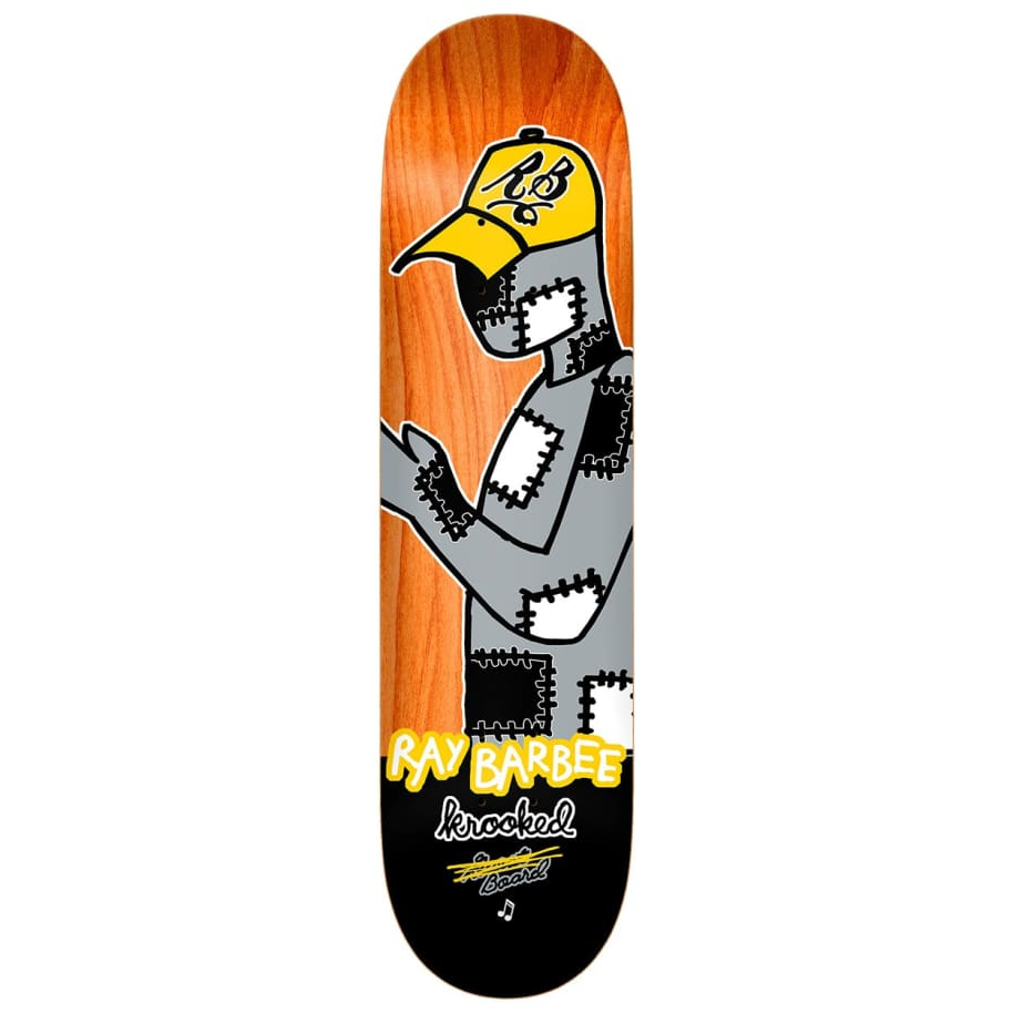 """Krooked Ray Barbee Redux Deck 8.25""""   Deck by Krooked Skateboards 1"""