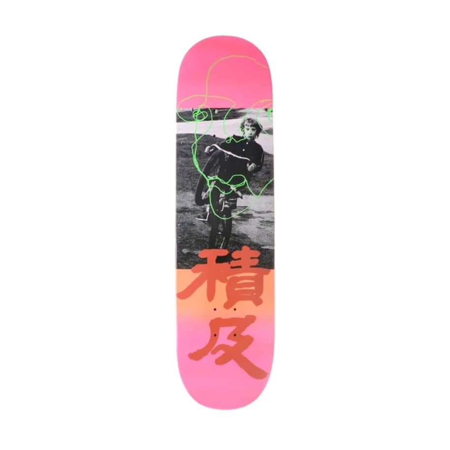 """Quasi """"Untitled"""" Deck Johnson 8.125"""" (Small Scratches So Discounted) 