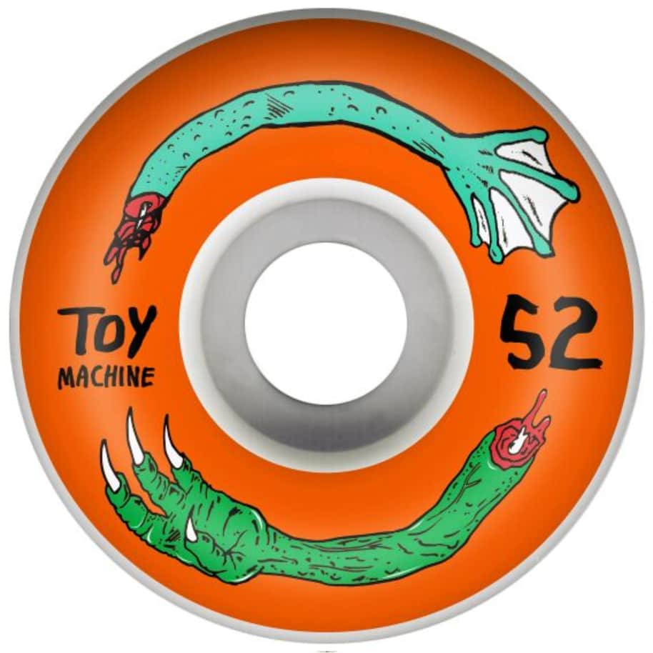 Toy Machine Skateboard Wheels | Fos Arms 52mm | Wheels by Toy Machine 1