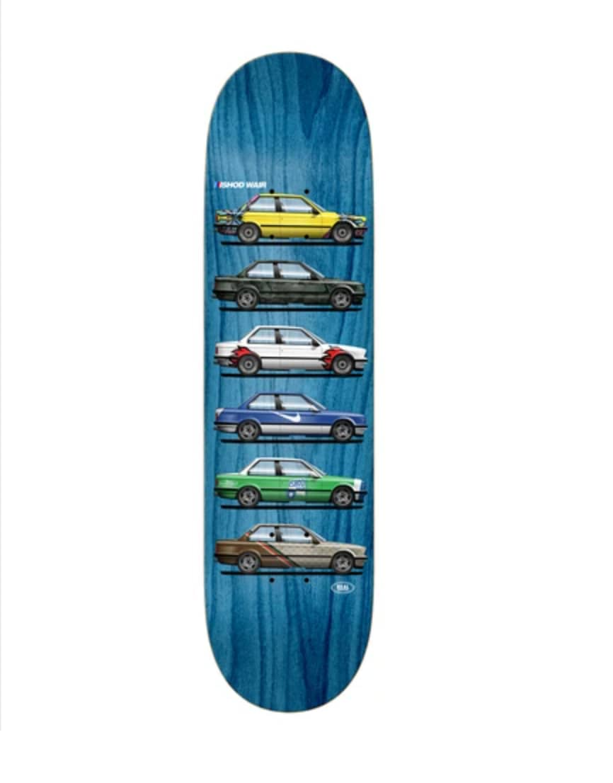 """Real - Ishod Customs Twin Tail Deck (8.5"""") 
