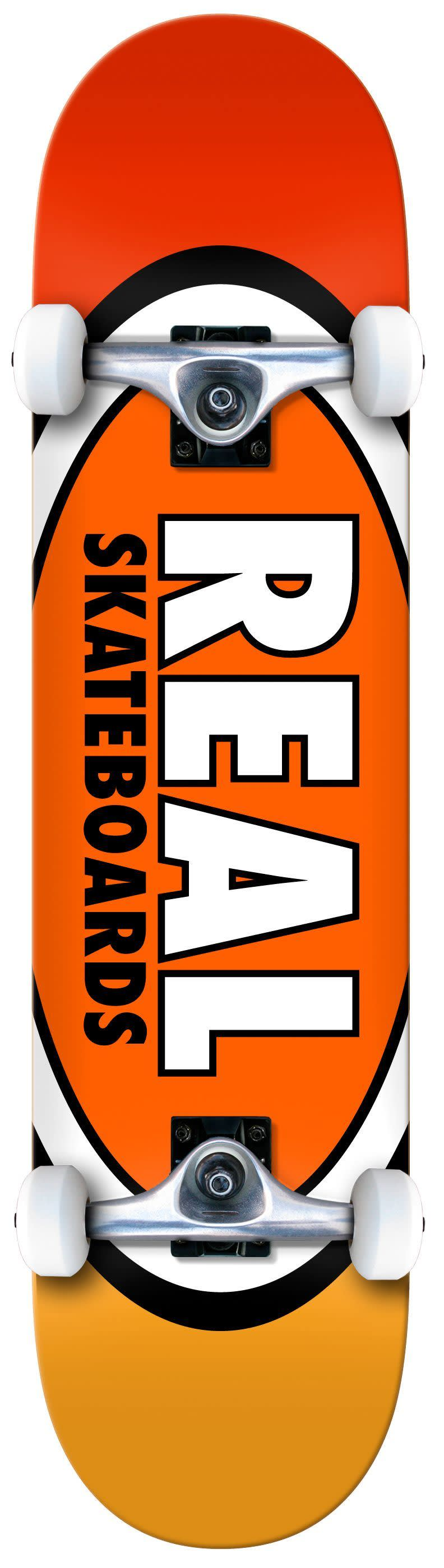 REAL Team Oval Complete 7.75 | Complete Skateboard by Real Skateboards 1