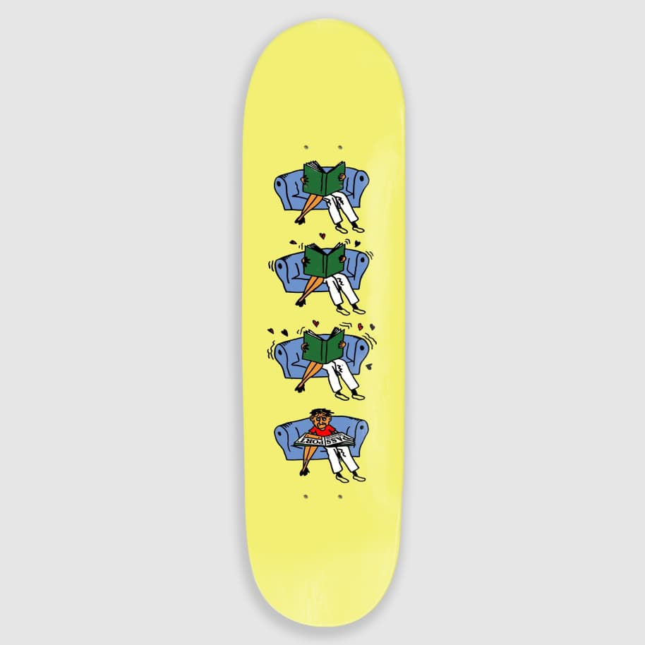 """Pass Port Skateboards - 8.0"""" What U Thought Legs Skateboard Deck 